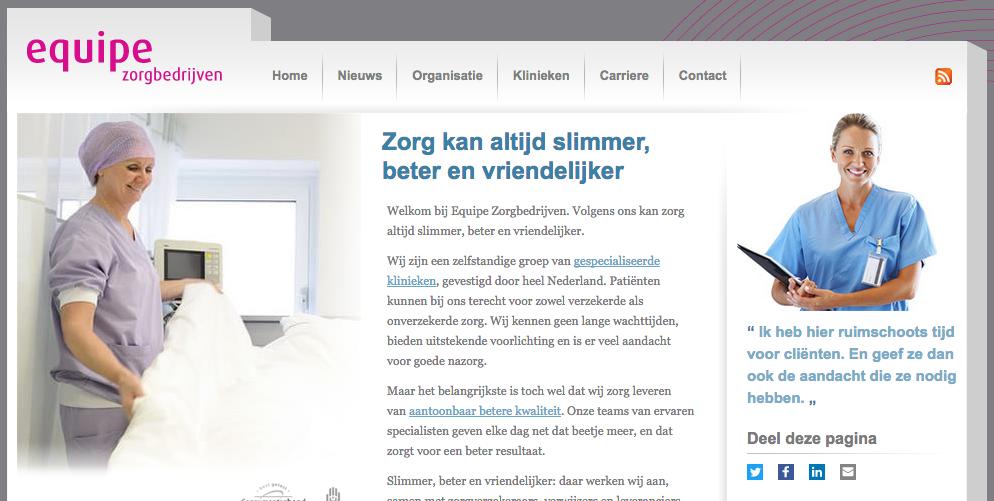 Equipe Homepage