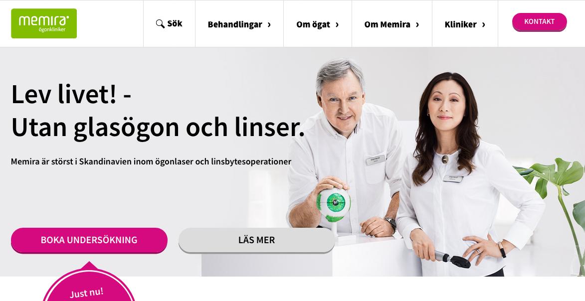 Memira Homepage