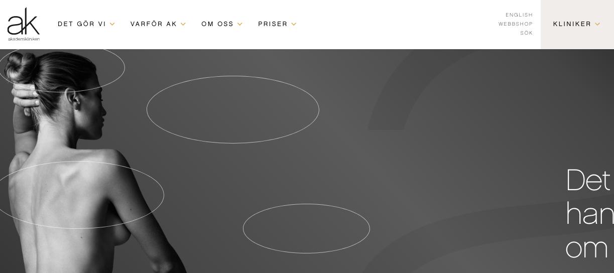 Akademikliniken Homepage